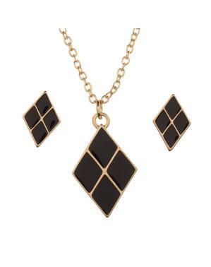 Set de joyería de Harley Quinn para mujer