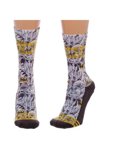 Calcetines de Batman estampados para mujer