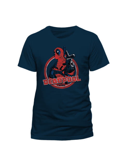 Deadpool Portrait T-Shirt für Herren