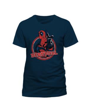 T-shirt Deadpool Portrait para homem
