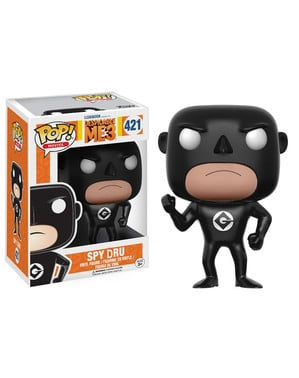 Funko POP! Spy Gru black - Minions
