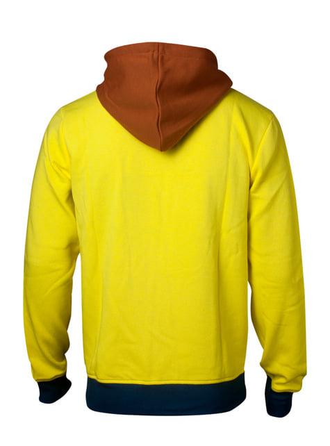 Sudadera de Morty amarilla - Rick y Morty