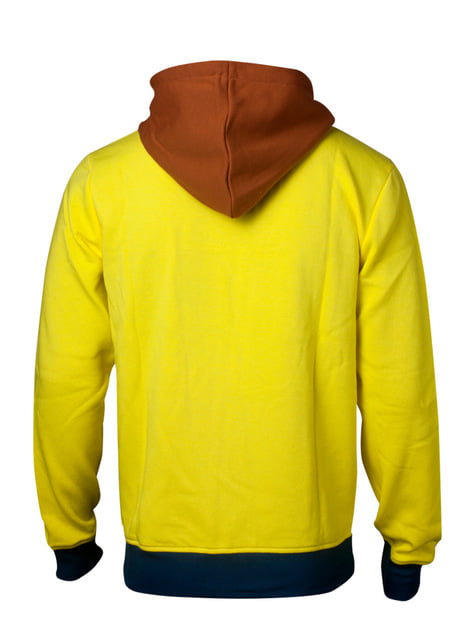 Yellow Morty sweatshirt - Rick and Morty