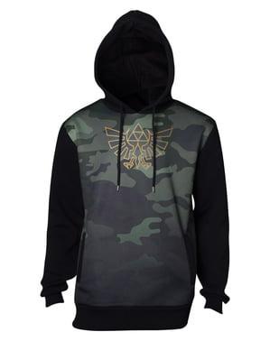 Felpa The Legend of Zelda camouflage da uomo