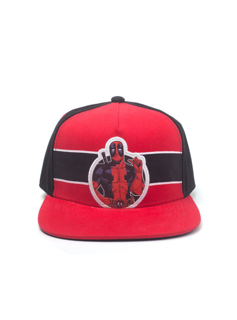 Deadpool cap for men in red
