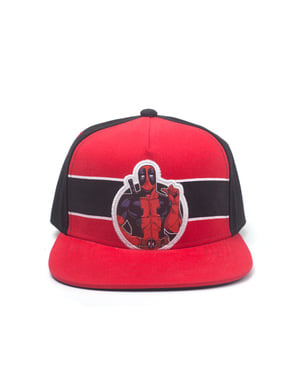 Boné Deadpool vermelho para homem