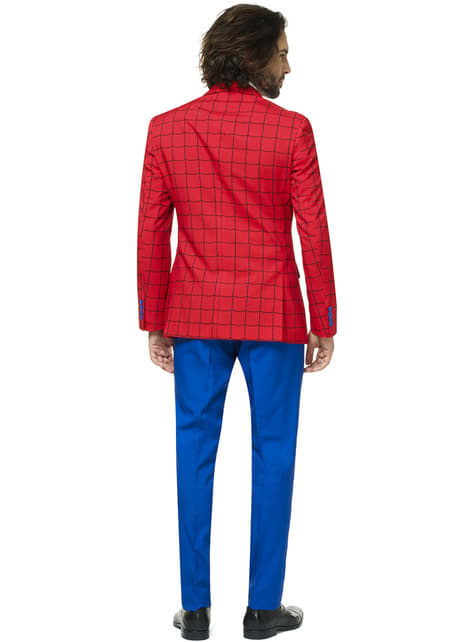 Fato Spiderman Opposuit para homem