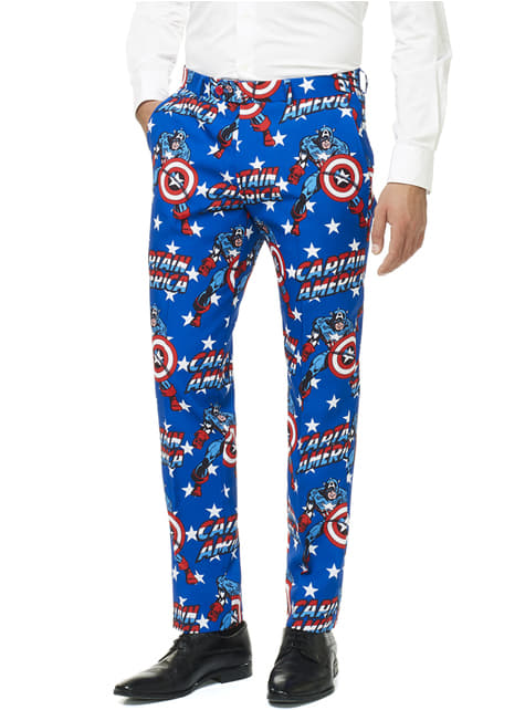 Captain America Opposuit for men