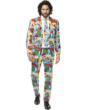 マーベルコミックスオポスーツ男性用スーツ