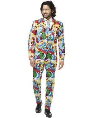 Marvel Comics Opposuit костюм за мъже