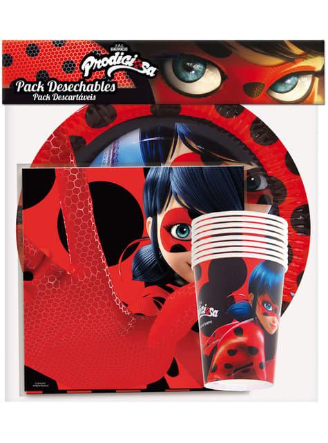 Kit de mesa de Ladybug - Miraculous