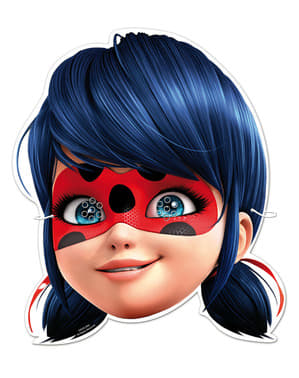 6 masques Miraculous Ladybug