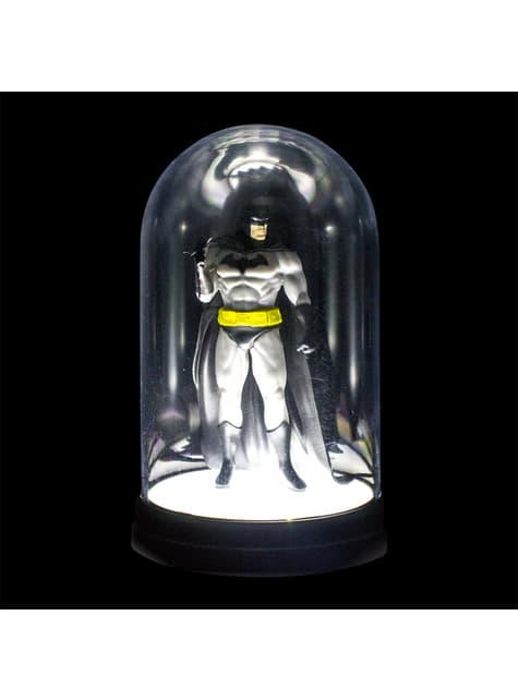 Figura vitrina iluminada de Batman 20 cm