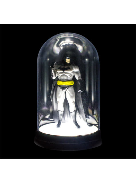 Figura vitrine iluminada de Batman 20 cm