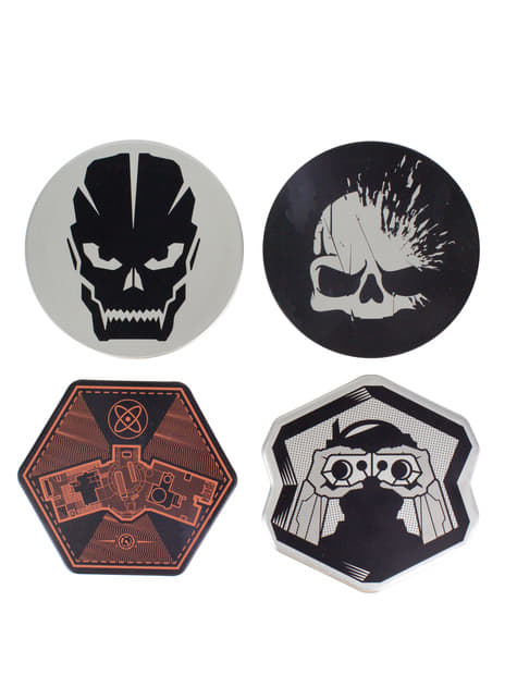 Set de 4 Posavasos Call of Duty
