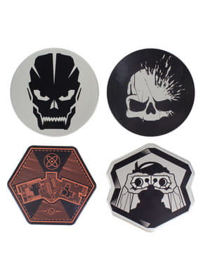 Call of Duty set of 4 coasters