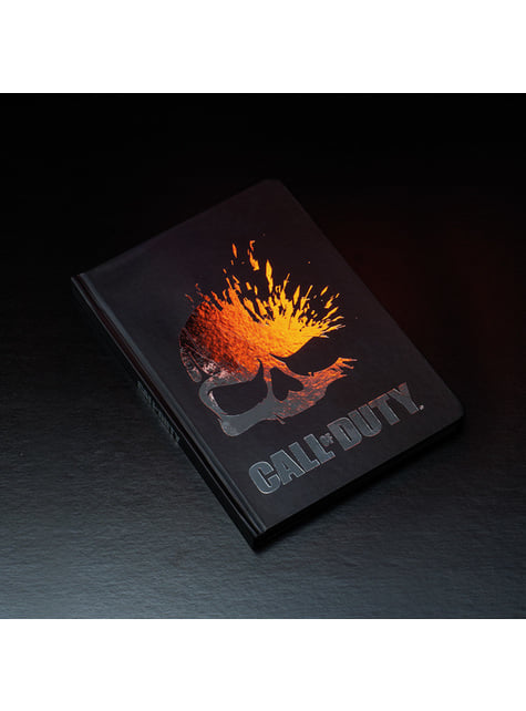 Libreta de Call of Duty