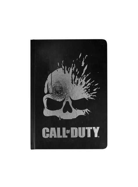 Libreta de Call of Duty - oficial