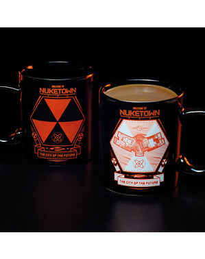 Nuketown - Call of Duty colour-changing mug
