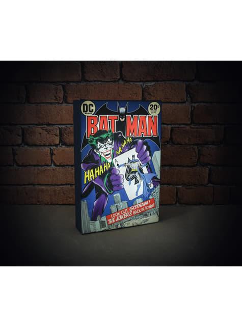 Batman afbeelding met achtergrondverlichting