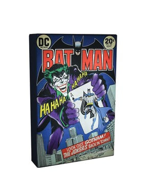Quadro retroilluminato di Batman