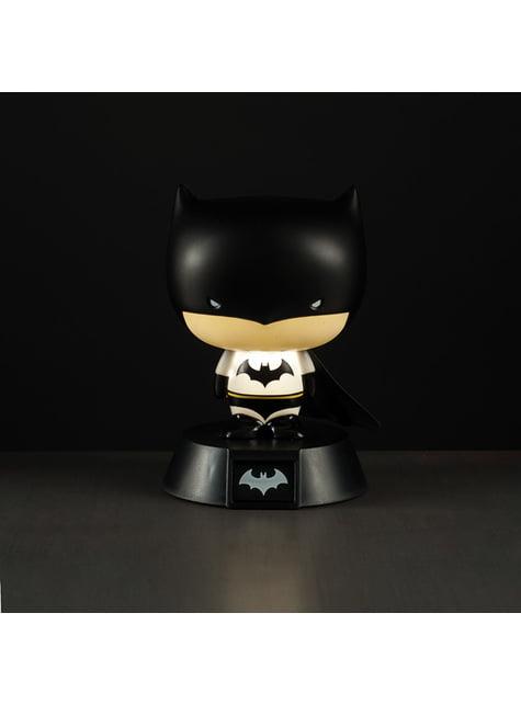Figura 3D con luz de Batman 10 cm