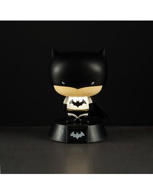 Sosok 3D Batman dengan cahaya