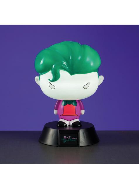 Joker 3D figure with light 10 cm