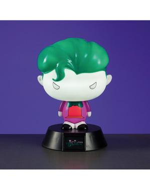 Joker 3D figur med lys 10 cm
