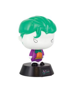 Figura 3D com luz de Joker 10 cm