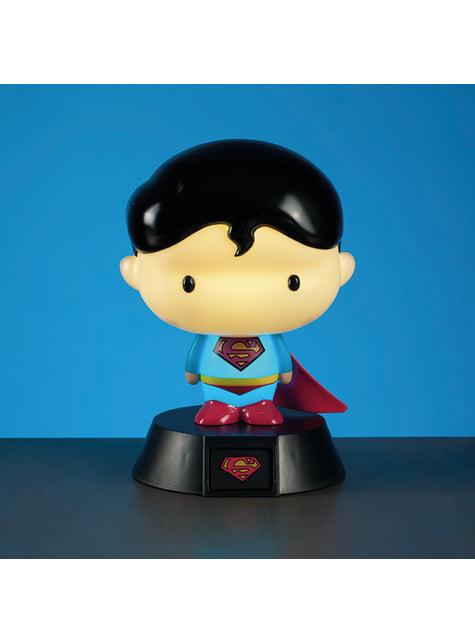 Superwoman 3D figure with light 10 cm