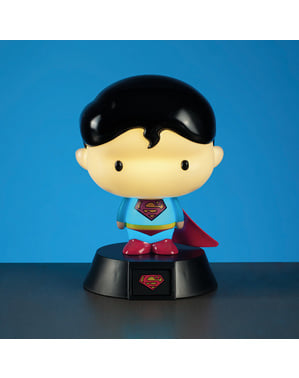 Figurină 3D cu lumină Superman 10 cm