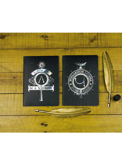Set de 2 Libretas de Harry Potter - oficial