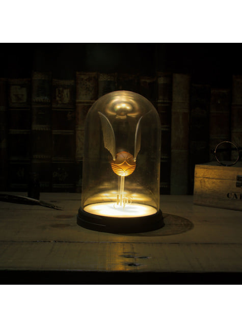 Golden snitch lamp - Harry Potter