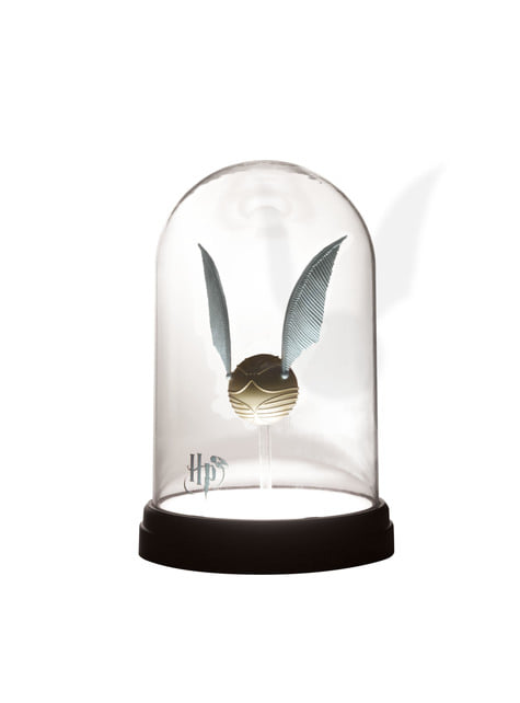 Gouden snaai lamp 20 cm - Harry Potter