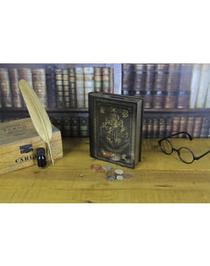 Kovová pokladnička Rokfort - Harry Potter