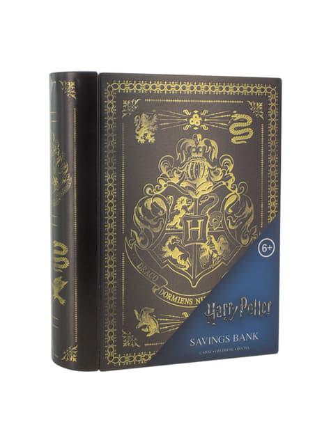 Hucha metálica Hogwarts - Harry Potter