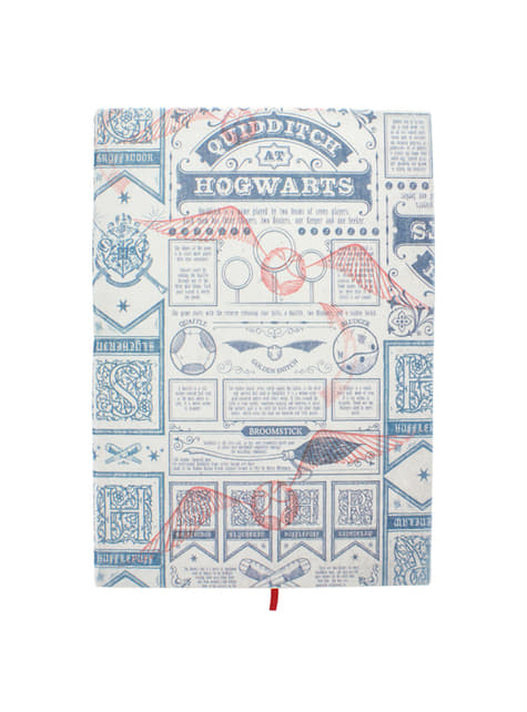 Libreta de Harry Potter Quidditch
