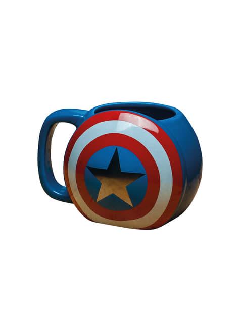 3D Hrnek Captain America