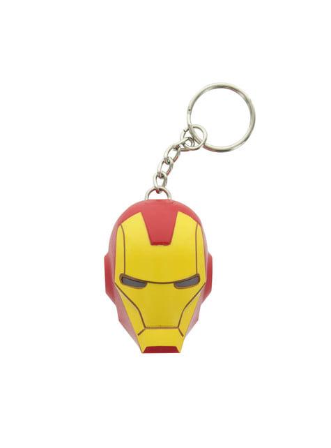 Llavero de Iron Man con luz LED - Los Vengadores