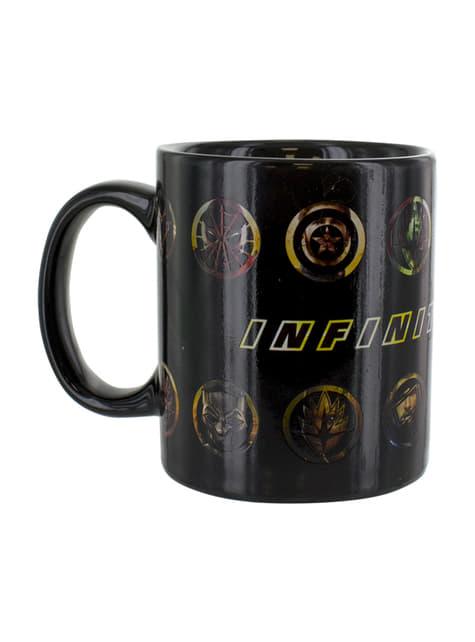The Avengers: Infinity War colour-changing mug