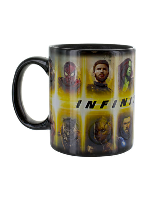 Taza cambia color - Los Vengadores: Infinity War - comprar