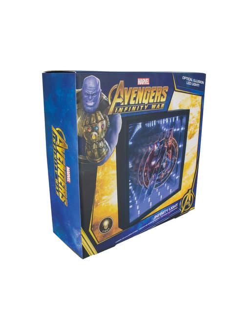 Cuadro retroiluminado de Los Vengadores: Infinity War - comprar