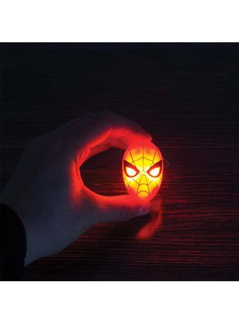 Porta-chaves de Homem-Aranha com luz LED