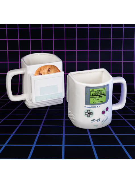 Caneca 3D de Gameboy