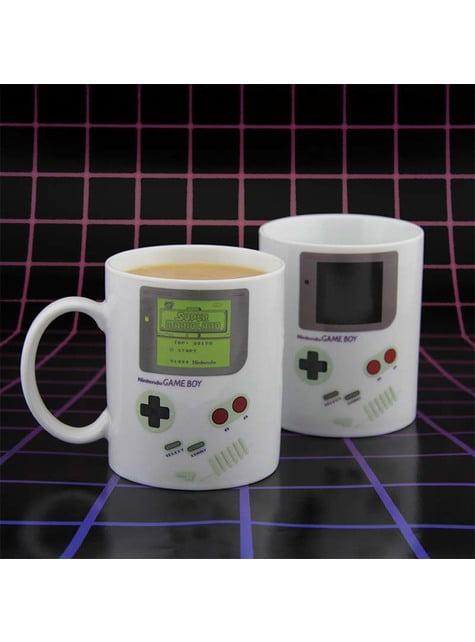 Mug Gameboy change de couleur