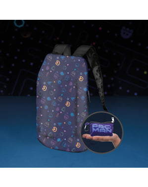 Pac-Man foldable backpack