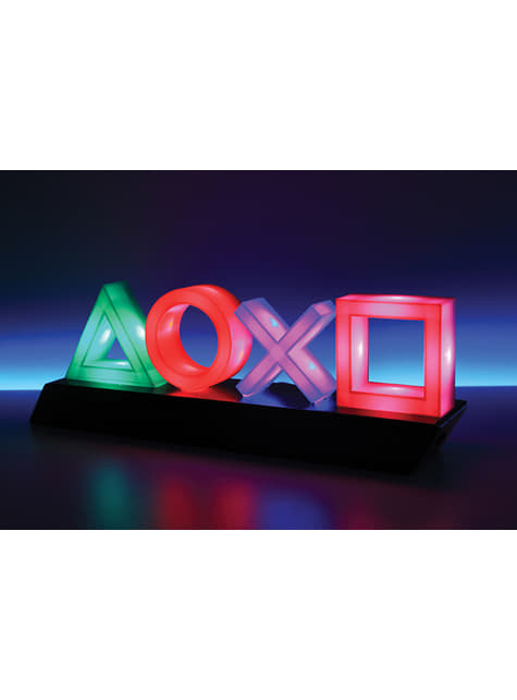 Candeeiro de botões de PlayStation