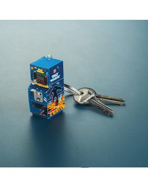 3D Space Invaders Arcade Machine keychain