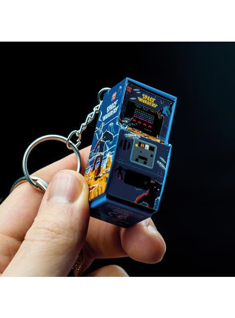 Llavero 3D Space Invaders Máquina Arcade - oficial